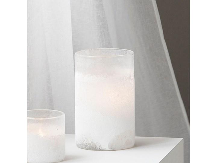 House Doctor - Świecznik White Mist L Kolor Biały Szkło Kategoria Świeczniki i świece