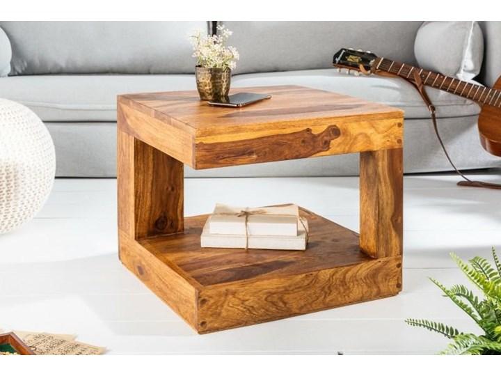 Stolik Giant S Wysokość 40 cm Drewno Wysokość 45 cm Styl Kolonialny