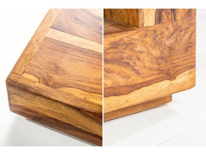Stolik Giant S Wysokość 45 cm Styl Kolonialny Wysokość 40 cm Drewno Rozmiar blatu 45x45 cm