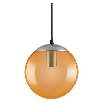 Ledvance - Żyrandol na lince BUBBLE 1xE27/40W/230V oranżowy dł. 20 cm