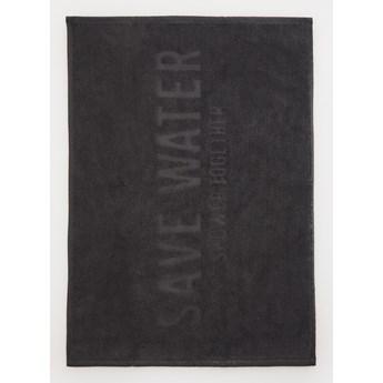 Sinsay - Ręcznikowy dywanik łazienkowy - Czarny