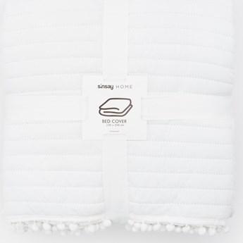 Sinsay - Narzuta na łóżko 220x240 - Kremowy