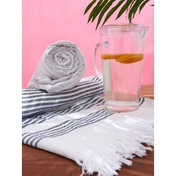 Sinsay - Ręcznik z frędzlami 90x180 - Biały