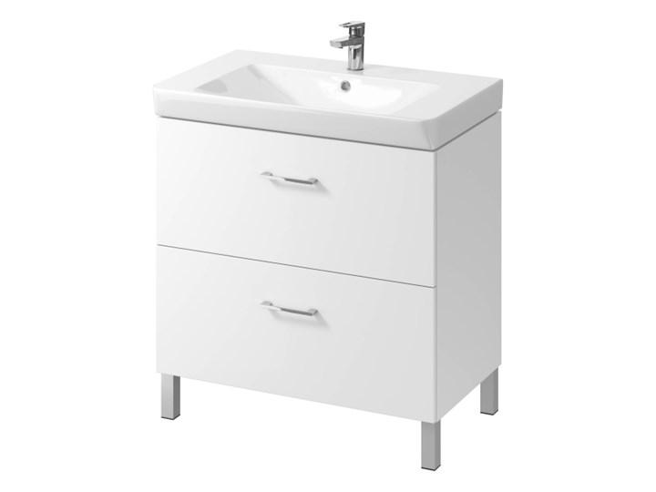 Szafka pod umywalkę Cersanit Olivia Mille 80 cm biała