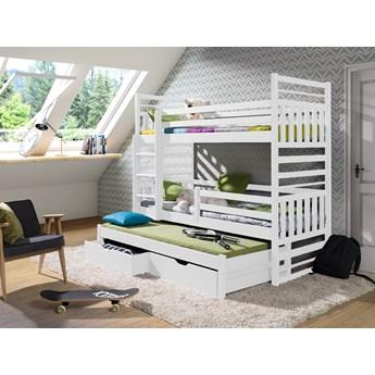 Łóżko 3 osobowe piętrowe HIPOLIT