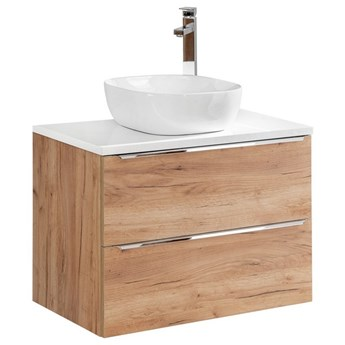 Szafka 80 cm pod umywalkę, podwieszana Capri Oak 821