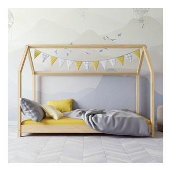 Łóżko dziecięce (domek) Bella kolor naturalny