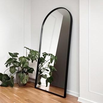 Lustro stojące Portal - czarne z łukiem
