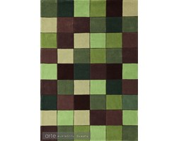 Makro Abra Dywan Eden Pixel Green ED 10 60x120