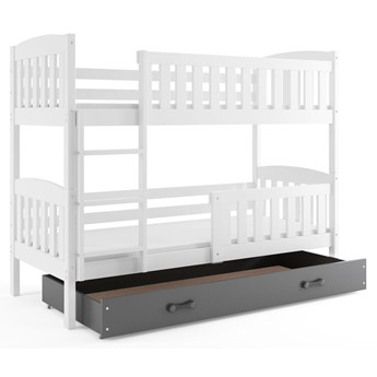 Dwuosobowe łóżko dla dzieci 90x200 - Elize 3X