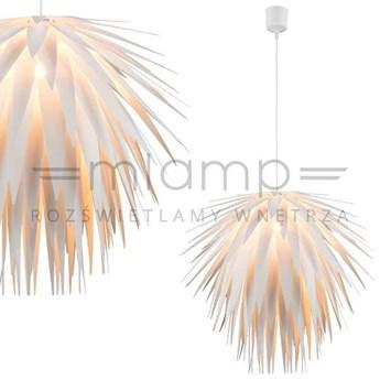 LAMPA wisząca NALA 15114 Globo dekoracyjna OPRAWA modernistyczny zwis ananas biały