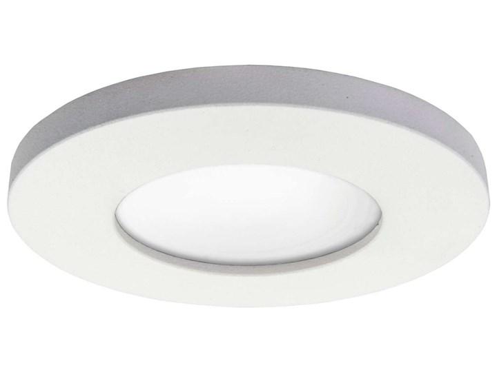 Wpuszczana LAMPA sufitowa LAGOS LP-440/1RS WH round Light Prestige podtynkowa OPRAWA oczko do zabudo ...