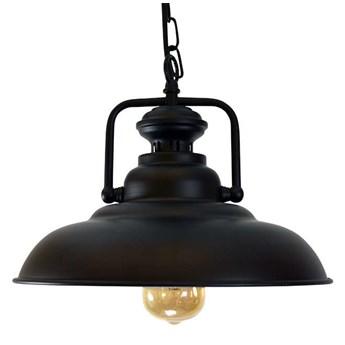 LAMPA wisząca ICELAND 305473 Polux industrialna OPRAWA zwis na łańcuchu czarny