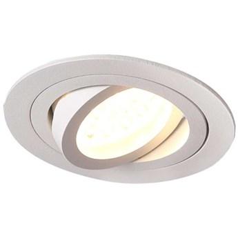Podtynkowa LAMPA sufitowa SIGNAL I H0084 Maxlight metalowa OPRAWA oczko do zabudowy białe