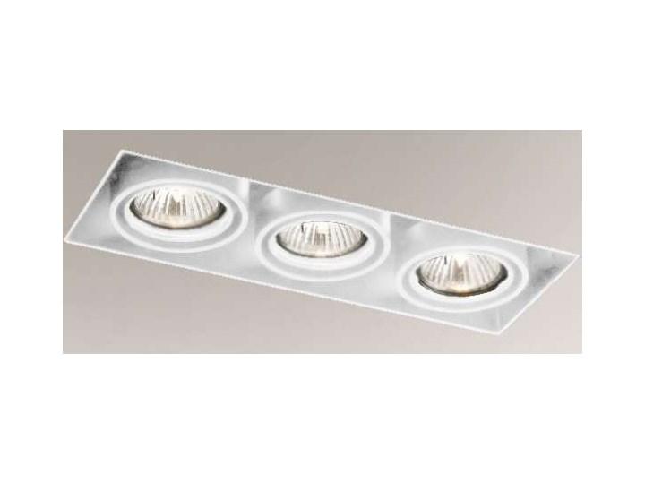 Podtynkowa LAMPA sufitowa OMURA 7310 Shilo prostokątna OPRAWA wpuszczana regulowana metalowy wpust biały Prostokątne Oprawa led Oprawa stropowa Kategoria Oprawy oświetleniowe