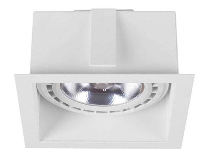 Podtynkowa LAMPA sufitowa MOD 9413 Nowodvorski metalowa OPRAWA kwadratowy WPUST do zabudowy biały Oprawa stropowa Oprawa dekoracyjna Oprawa wpuszczana Kwadratowe Kategoria Oprawy oświetleniowe