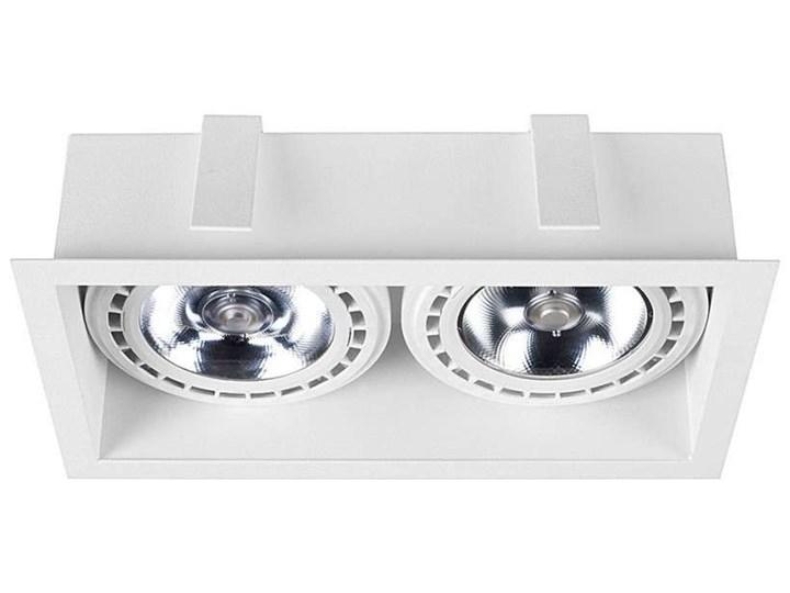 Podtynkowa LAMPA sufitowa MOD 9412 Nowodvorski metalowa OPRAWA prostokątny WPUST do zabudowy biały Oprawa dekoracyjna Oprawa stropowa Oprawa wpuszczana Oprawa led Prostokątne Kategoria Oprawy oświetleniowe