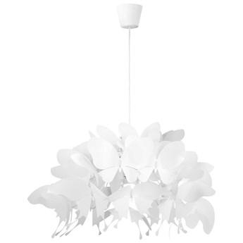 LAMPA wisząca FARFALLA LP-3439/1P white Light Prestige dekoracyjna OPRAWA do pokoju dziecięcego zwis motyle białe