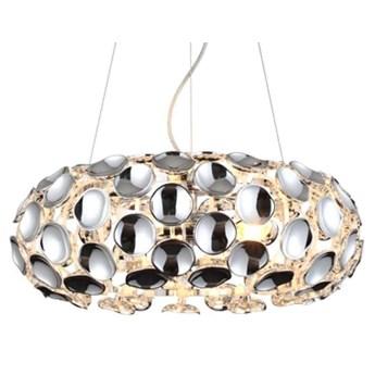 LAMPA wisząca FERRARA LP-17060/3P Light Prestige glamour OPRAWA owalny zwis chrom