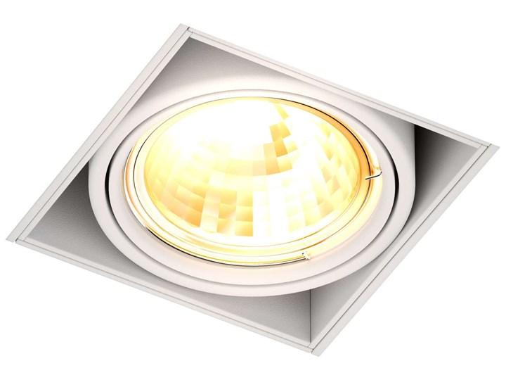 Podtynkowa LAMPA sufitowa ONEON 94361-WH Zumaline kwadratowa OPRAWA metalowy WPUST do zabudowy biały Oprawa led Oprawa stropowa Kwadratowe Oprawa dekoracyjna Oprawa wpuszczana Kategoria Oprawy oświetleniowe
