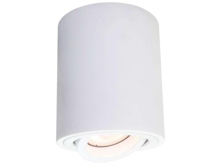 LAMPA sufitowa TULON LP-5441/1SM WH Light prestige metalowa OPRAWA tuba regulowany downlight biała Oprawa stropowa Okrągłe Kolor Biały Oprawa led Kategoria Oprawy oświetleniowe