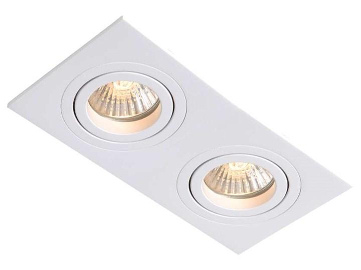 Wpust LAMPA sufitowa METIS LP-2780/2RS WH Light Prestige prostokątna OPRAWA wpuszczana regulowana bi ...