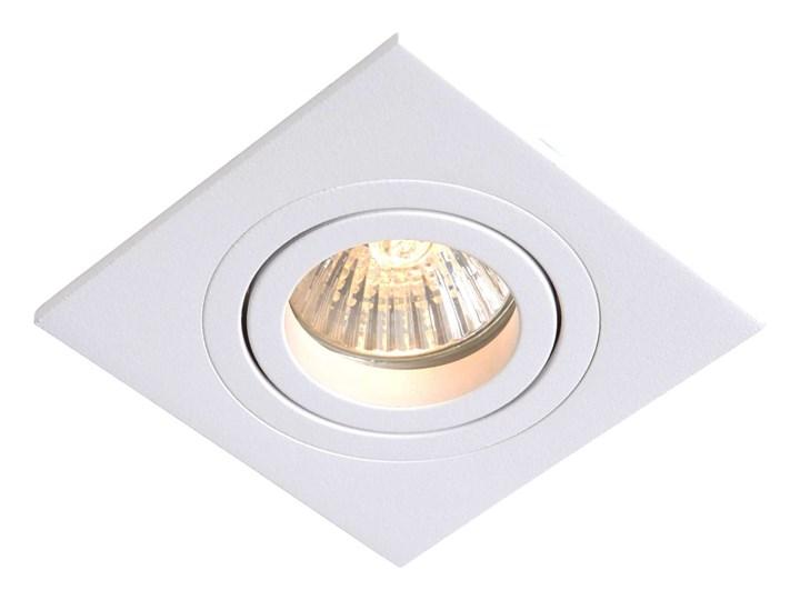 Wpuszczana LAMPA sufitowa METIS LP-2780/1RS WH Light Prestige metalowa OPRAWA kwadratowy WPUST do zabudowy biały Oprawa stropowa Oprawa led Oprawa wpuszczana Kwadratowe Kategoria Oprawy oświetleniowe