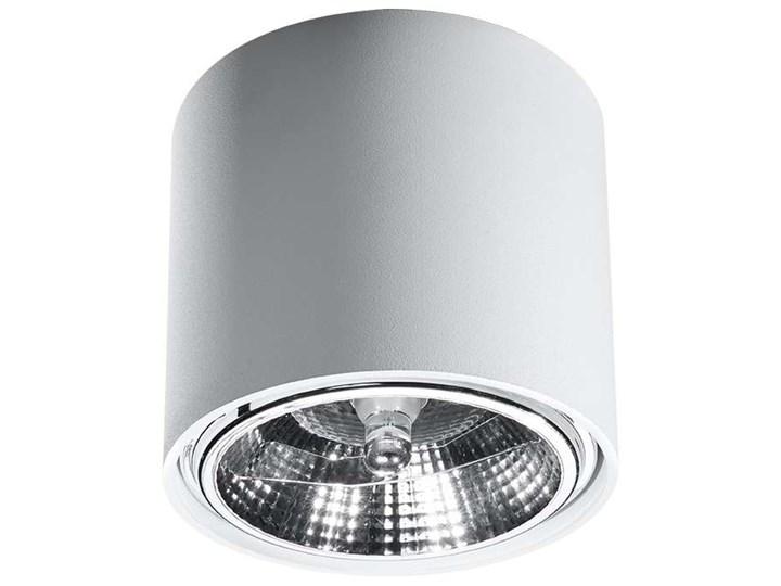 Spot LAMPA sufitowa SOL SL695 metalowa OPRAWA downlight natynkowa tuba biała Kolor Biały Oprawa led Oprawa stropowa Okrągłe Kategoria Oprawy oświetleniowe