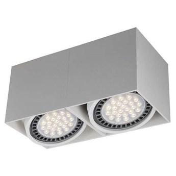 Spot LAMPA sufitowa BOX ACGU10-116 Zumaline prostokątna OPRAWA metalowy plafon downlight biały