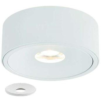 Oczko LAMPA sufitowa Neo Bianco Slim KG + Ufo Bianco Orlicki Design okrągła OPRAWA metalowa podtynkowa biała