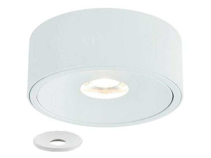 Oczko LAMPA sufitowa Neo Bianco Slim KG + Ufo Bianco Orlicki Design okrągła OPRAWA metalowa podtynkowa biała Oprawa stropowa Kolor Biały Okrągłe Oprawa led Kategoria Oprawy oświetleniowe