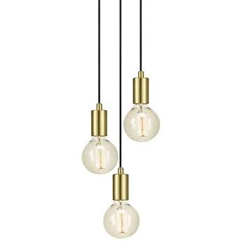 Industrialna LAMPA wisząca SKY 107107 Markslojd metalowa OPRAWA przewód ZWIS loftowy mosiężny