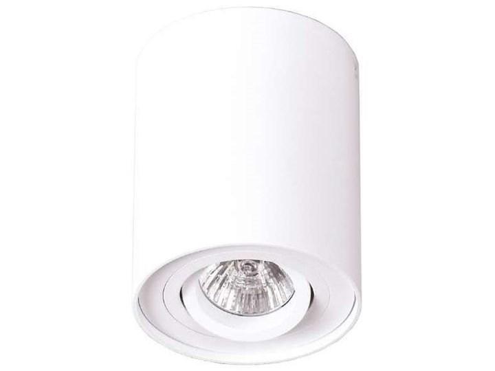 Downlight LAMPA sufitowa BASIC ROUND C0067 Maxlight metalowa OPRAWA tuba SPOT biała Okrągłe Oprawa led Oprawa stropowa Kolor Biały