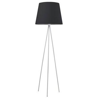 Biało-czarna lampa podłogowa z abażurem - EXX152-Eriva