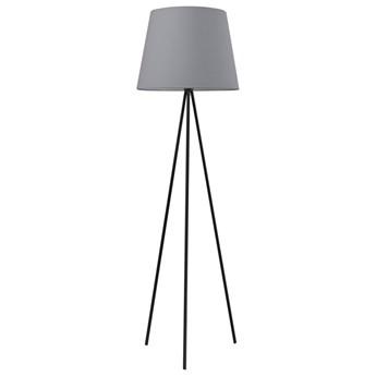 Czarno-szara lampa stojąca trójnóg - EXX153-Eriva
