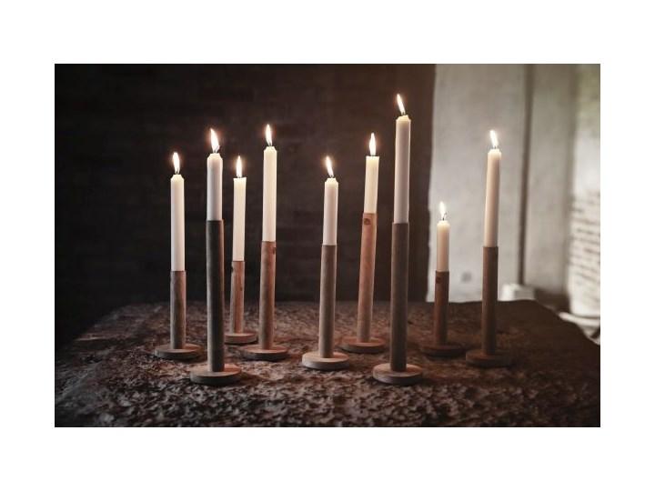ERNST - Świecznik Ljuss M Drewno Kategoria Świeczniki i świece