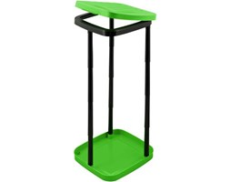 Stojak na worki na śmieci zielony Apple Plast Team_DARMOWA DOSTAWA !!!