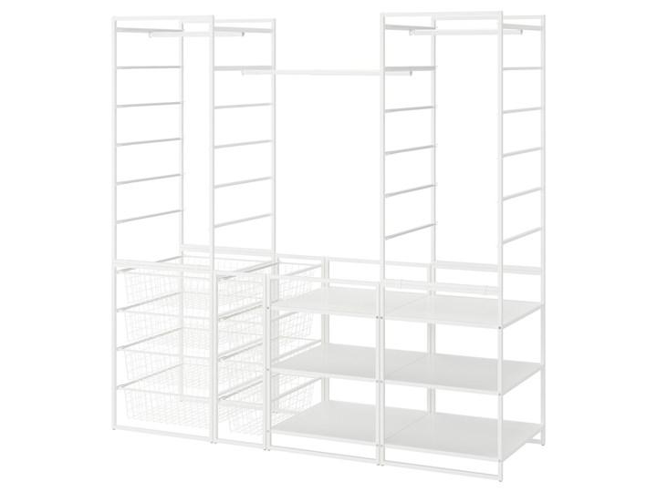 IKEA JONAXEL Kombinacja szafy, biały, 173x51x173 cm Lustro Stal Metal Kategoria Szafy do garderoby