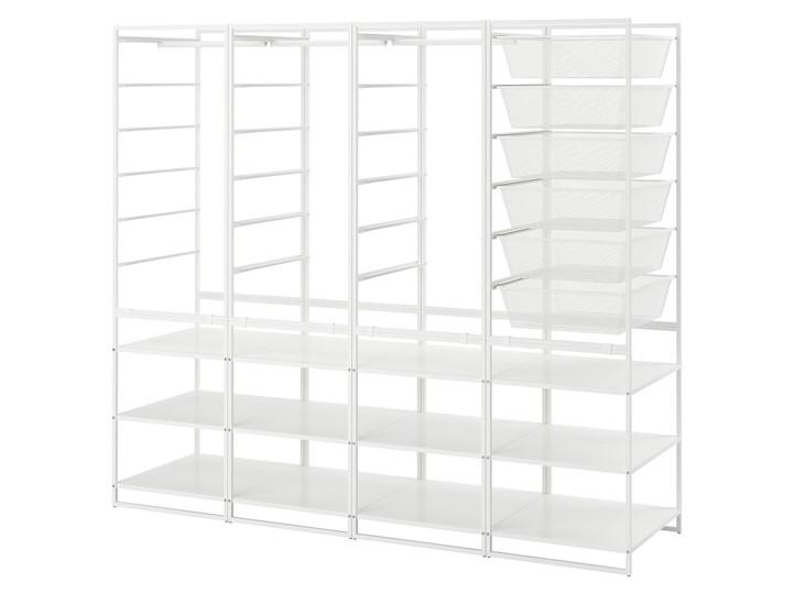 IKEA JONAXEL Kombinacja szafy, biały, 198x51x173 cm Metal Stal Styl Nowoczesny