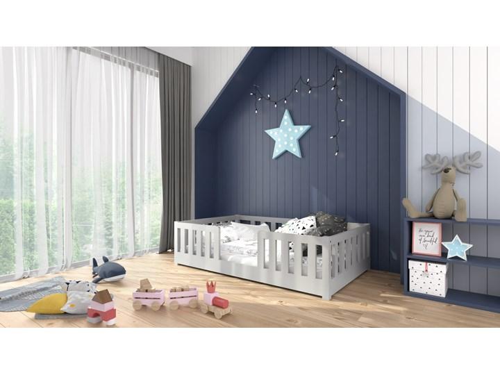 Łóżeczko RYŚ Classic | standard, szary Drewno Kategoria Łóżka dla dzieci