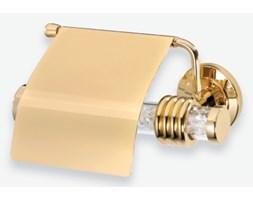 Złoty wieszak na papier toaletowy Orbit 6407