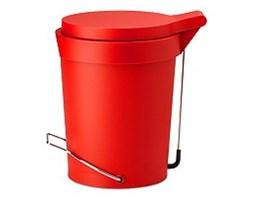 Authentics KOSZ NA ŚMIECI TIP 7L czerwony