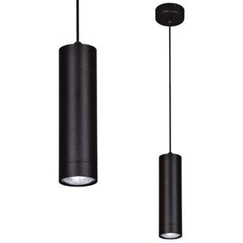 Sopel LAMPA wisząca K-4435 Kaja metalowa OPRAWA zwis na listwie tuba czarna