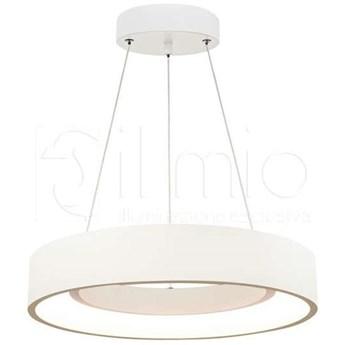 LAMPA wisząca BODO 307484 Il mio metalowa OPRAWA LED 20W 3000K okrągły ring zwis biały