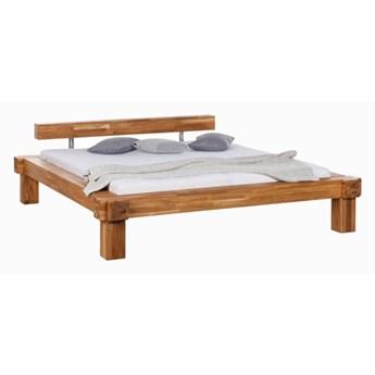 Łóżko dębowe bella