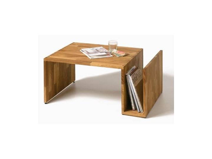 Stolik kawowy dębowy Fresh - Olej naturalny. Wysokość 43 cm Drewno Kategoria Stoliki i ławy