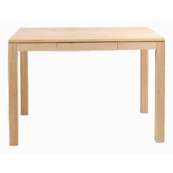 Stół drewniany, dębowy kuchenny Total z szufladą