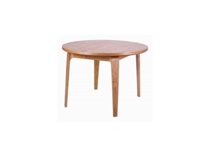 Stół dębowy Argo Paged - dąb bejca Rozkładanie Rozkładane Metal Długość 145 cm  Drewno Kategoria Stoły kuchenne