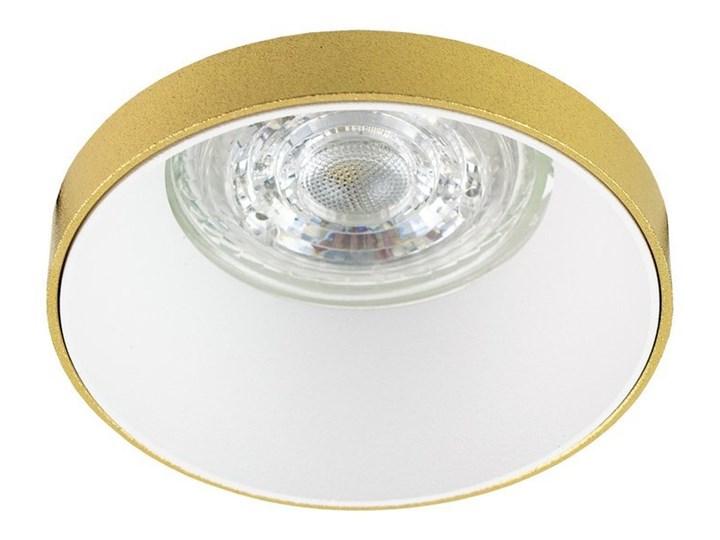 Punktowa oprawa sufitowa wpuszczana LIRA W Gold IP20 okrągła złota, środek biały EDO777324 EDO Oprawa stropowa Kolor Złoty Oprawa wpuszczana Okrągłe Kategoria Oprawy oświetleniowe