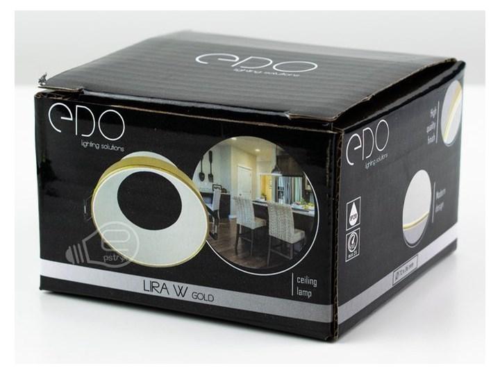 Punktowa oprawa sufitowa wpuszczana LIRA W Gold IP20 okrągła złota, środek biały EDO777324 EDO Kolor Złoty Oprawa wpuszczana Oprawa stropowa Okrągłe Kategoria Oprawy oświetleniowe